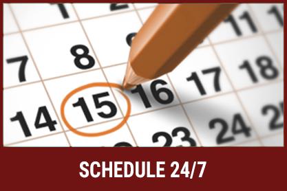 Schedule 24 7